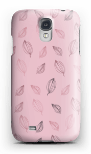 Falling Leaves Pink case Galaxy S4