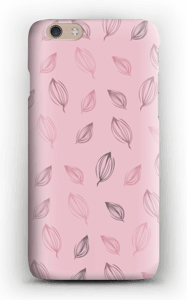 Falling Leaves Pink case IPhone 6