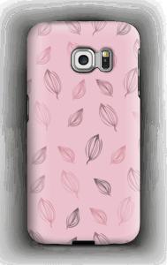 Keväinen pinkki  kuoret Galaxy S6 Edge