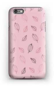 Falling Leaves Pink case IPhone 6 Plus tough
