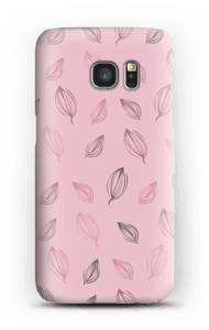 Falling Leaves Pink case Galaxy S7
