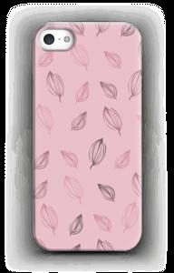 Roze bloemknoppen hoesje IPhone SE