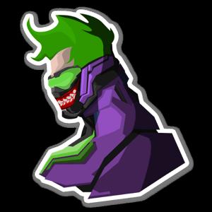 Joker76 sticker