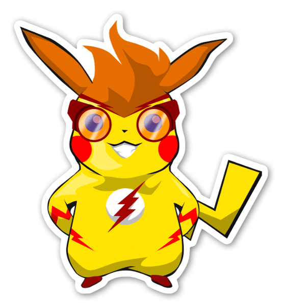 PikaWally  sticker