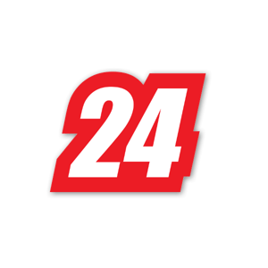 Racing 24  sticker
