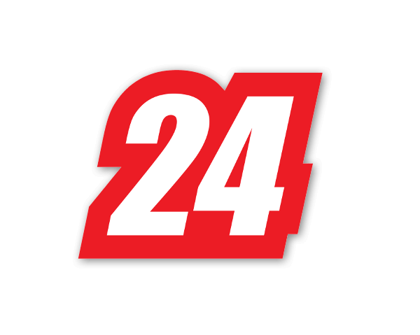 Racing 24  sticker