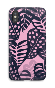 Plantas Tropicales Morado funda IPhone X