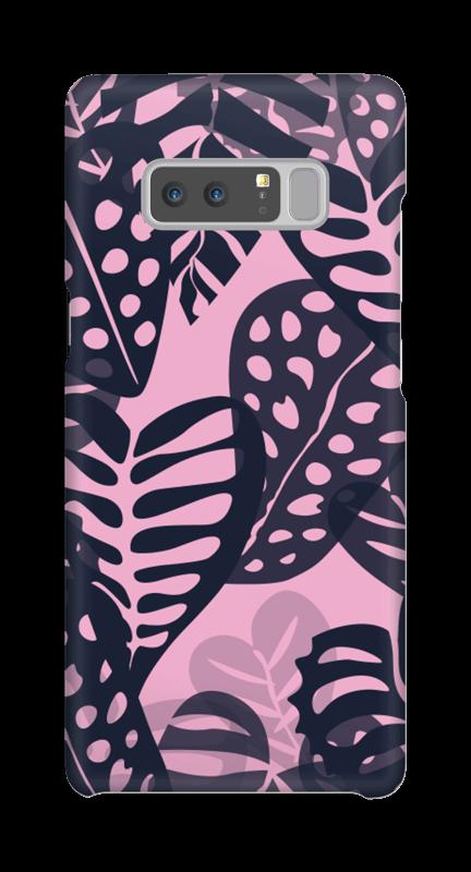 Tropiske planter deksel Galaxy Note8