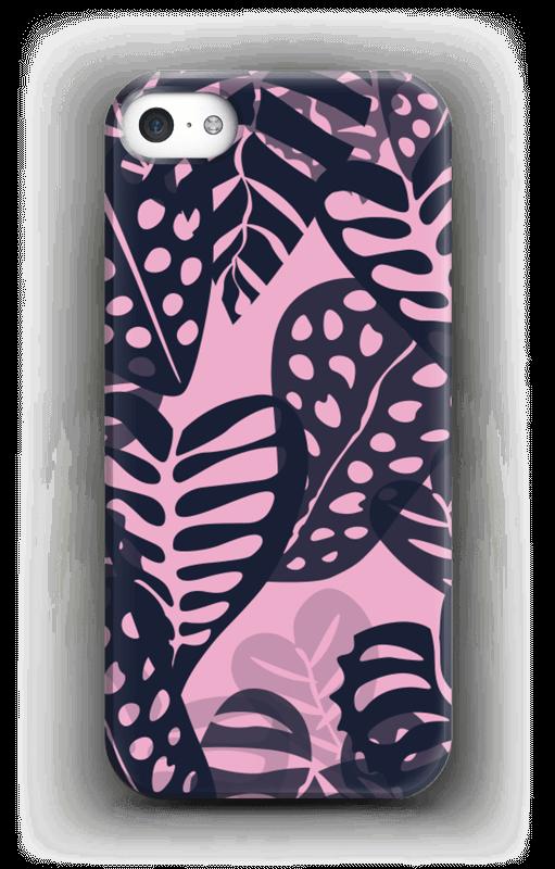 Tropical Plants Navy Coque  IPhone 5/5S
