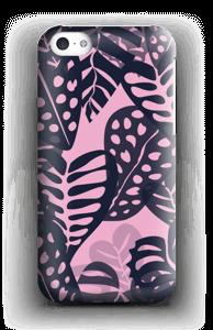 Troopisia kasveja merensininen kuoret IPhone 5c