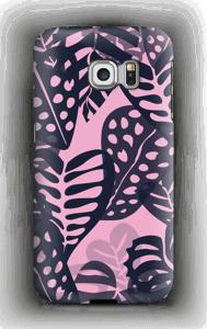 Tropiske planter deksel Galaxy S6 Edge