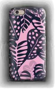 Trooppisia kasveja vaaleanpunainen kuoret IPhone 6s tough