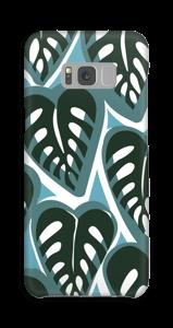 Trooppisia kasveja turkoosi kuoret Galaxy S8 Plus