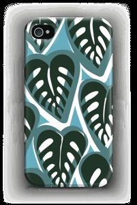 Trooppisia kasveja turkoosi kuoret IPhone 4/4s