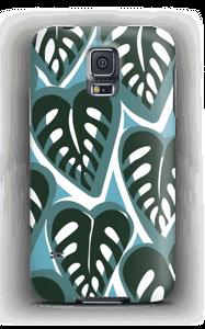 Tropiske planter i turkise farver cover Galaxy S5