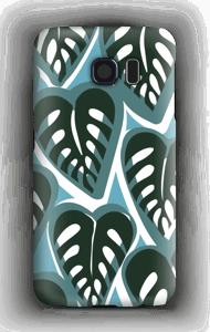 Trooppisia kasveja turkoosi kuoret Galaxy S6