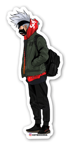 Supreme kakashi sticker