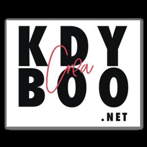 KDBC logo sticker