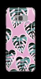 Tropical Plants Light Violet skal Galaxy S8 Plus