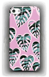 Tropical Plants Light Violet skal IPhone 5/5S