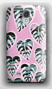 Tropiske planter deksel Galaxy S4
