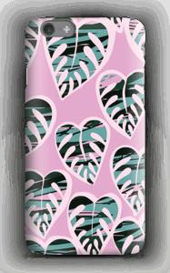 Tropische planten in violet hoesje IPhone 6s