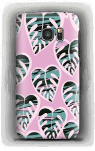 Tropical Plants Light Violet skal Galaxy S7