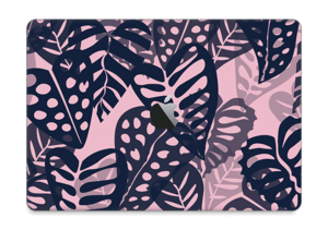 "Tropical Plants Navy Skin MacBook Pro 13"" 2016-"