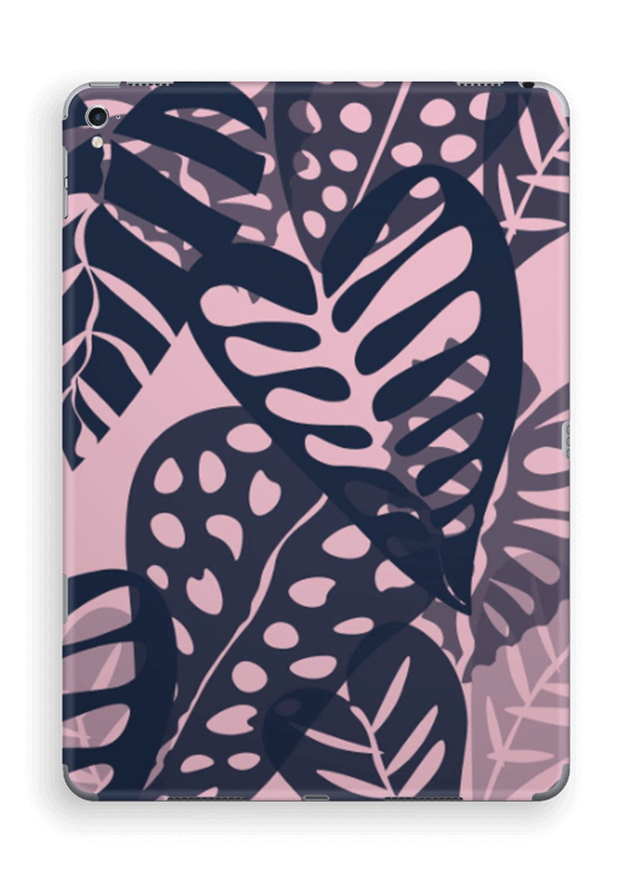 Tropical Plants Navy Skin IPad Pro 9.7