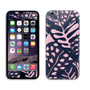 Tropical Plants Navy Skin IPhone 6/6s