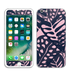 Tropical Plants Navy Skin IPhone 6 Plus