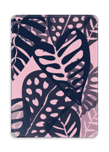 Tropical Plants Navy Skin IPad Air
