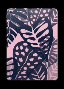 Tropical Plants Navy Skin IPad 2017