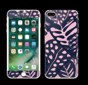 Tropical Plants Navy Skin IPhone 7 Plus