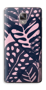 Tropical Plants Navy Skin OnePlus 3T