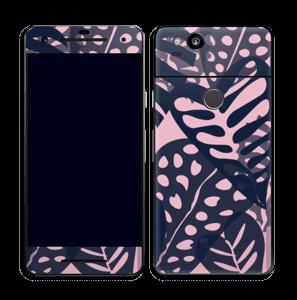 Tropical Plants Navy Skin Pixel 2