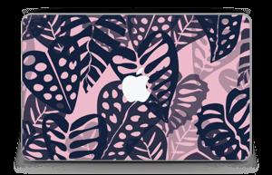 """Tropical Plants Navy Skin MacBook Air 11"""""""