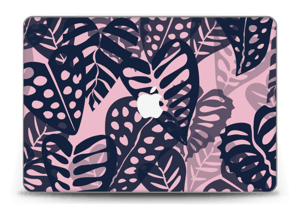 "Tropical Plants Navy Skin MacBook Pro Retina 15"" 2015"