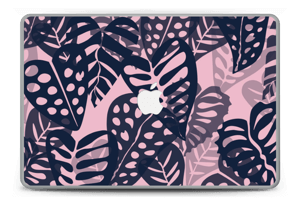 "Tropical Plants Navy Skin MacBook Pro 15"" -2015"