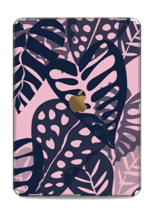 Tropical Plants Navy Skin IPad Pro 12.9