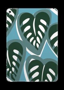 Tropical Plants Turquoise Skin IPad Pro 9.7