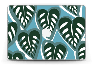 "Tropical Plants Turquoise Skin MacBook Pro Retina 13"" 2015"