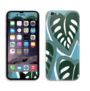 Tropical Plants Turquoise Skin IPhone 6/6s
