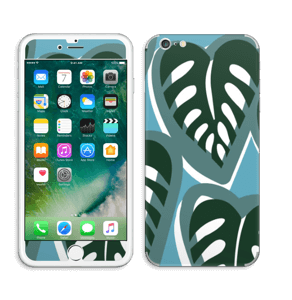 Tropical Plants Turquoise Skin IPhone 6 Plus
