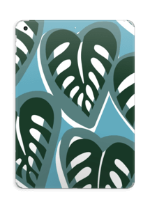 Tropical Plants Turquoise Skin IPad 2017