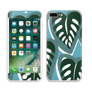 Tropical Plants Turquoise Skin IPhone 7 Plus