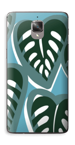 Tropical Plants Turquoise Skin OnePlus 3T