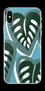 Tropische Pflanzen Skin IPhone X