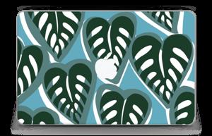 "Tropical Plants Turquoise Skin MacBook Air 11"""