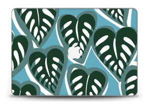 "Tropical Plants Turquoise Skin MacBook Pro Retina 15"" 2015"